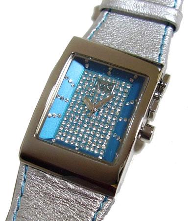 D&G TIME ドルチェ&ガッバーナLOGO SIDE EX レディース革ベルト腕時計 DW0157【ラッピング無料】【楽ギフ_包装】【10P11Mar16】【05P03Dec16】