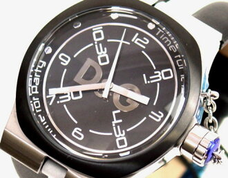 D & G TIME die and say ZANGO mens watch DW0194 black