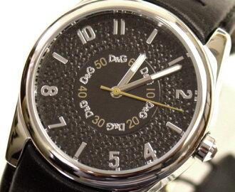 D & G TIME d & g SANDPIPER ロゴフェイス clock DW0261 black 10P17May13