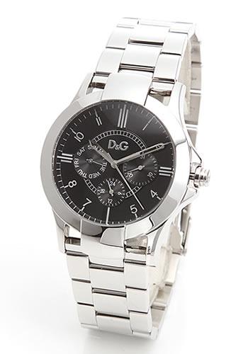 D&G TIME ドルチェ&ガッバーナTEXAS(テキサス) クロノグラフSSベルト腕時計 DW0537【ラッピング無料】【楽ギフ_包装】【10P11Mar16】【05P03Dec16】