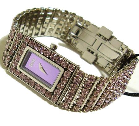 D&G TIME ドルチェ&ガッバーナ JACLYNクリスタルレディース腕時計 3719251231【ラッピング無料】【楽ギフ_包装】【10P11Mar16】【05P03Dec16】