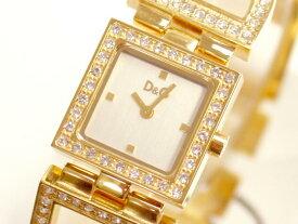 D&G TIME ドルチェ&ガッバーナ DAY&NIGHT レディースジルコニア付ゴールドSSベルト腕時計 3719250329【ラッピング無料】【楽ギフ_包装】【10P11Mar16】【05P03Dec16】