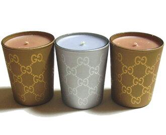 GUCCI/古馳芳香蠟燭3個安排163862-8074