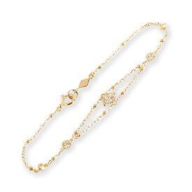 ダイヤモンド クラシカル ブレスレット 『Dulles』 ブレスレット レディース 18k 18金 k18 ゴールド ダイヤブレスレット ダイアモンド bracelet アンティーク クラシカル 大人 女性 上品 繊細 送料無料 ギフト プレゼント