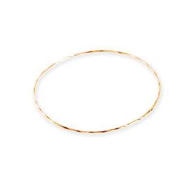 【Torquent Bangle】 バングル レディース 腕輪 ブレスレット k18 18金 18k k10 10金 10k ゴールド ピンクゴールド ホワイトゴールド 女性 大人 シンプル 上品 細身 華奢 プレゼント ギフト