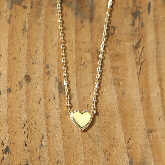 Jewelry avaron rakuten global market k18 gold heart necklace tina k18 gold heart necklace tina ladies heart necklace gold necklace pendant 18 k 18 gold skin j jewelry pink gold white gold simple slender pendant made in mozeypictures Images