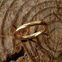【Nude】 リング レディース ゴールド 甲丸 指輪 結婚指輪 マリッジリング ペアリング k18 18金 18k k10 10金 10k ピ…