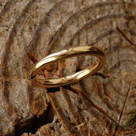【Nude】 リング レディース 指輪 結婚指輪 マリッジリング ペアリング k18 18金 18k k10 10金 10k ゴールド ピンクゴールド ホワイトゴールド 女性 大人 地金 甲丸 シンプル 普段使い クリスマス プレゼント ギフト