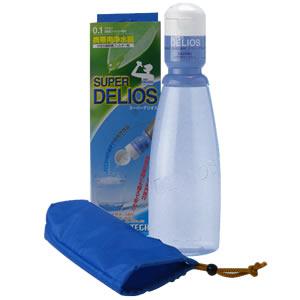 いつでもどこでも飲み水を〜スーパーデリオス携帯用浄水器防災用品の決定版!