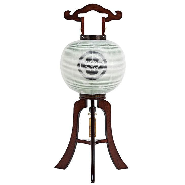家紋入れ無料の木製盆提灯。送料無料・本格派盆提灯の代表的商品です。【G59KO38155S】