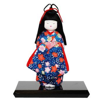 木目込み童人形No.1021-B【おめかし】布付き手芸キット