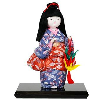 木目込み童人形No.1023-B【折づる】布付き手芸キット
