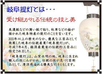 御所デザイン盆提灯「蘭」。ベテラン店長のおすすめ商品です。