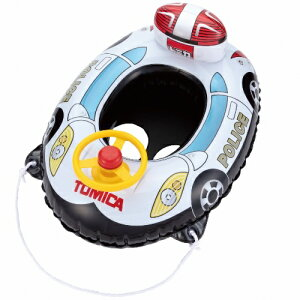 TAKARA TOMY A.R.T.S(タカラトミーアーツ) 【TM-BT-080-V】 トミカ ボート 80×58cm 足入れ浮き輪