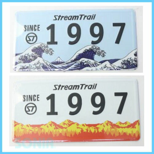 Stream Trail(ストリームトレイル) ST0001 オリジナル プレート 1997
