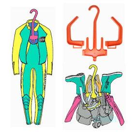 AQUALUNG(アクアラング) ダイビングハンガー Diving Hanger 国産品