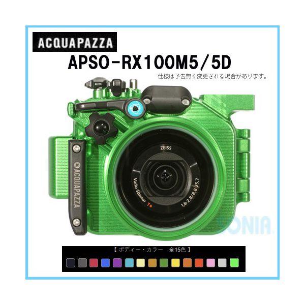 ACQUAPAZZA(アクアパッツァ) 【APSO-RX100M5/5D】 SONY DSC-RX100M5用 水中ハウジング