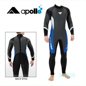 apollo(アポロ) BPS-101 セミドライスーツ メンズ bio-pro semi dry suit