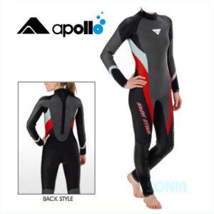 apollo(アポロ) BPS-102 セミドライスーツ レディース bio-pro semi dry suit