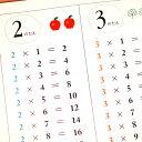 シンプルで覚えやすい「かけ算・九九表」九九 ポスターA2サイズ 室内用 インテリア 知育 モノクロ かけ算九九