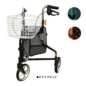 インタージェット AIJ TR62 街乗りトライウォーカー 三輪 歩行車 計3色 歩行器 シルバーカー