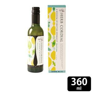 生活の木 Mint & Lemon ハーブコーディアル ミント&レモン 360mL コーディアル ハーブ オーガニック ミント レモン