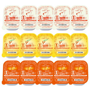 ニュートリー ブイ・クレス ブイ・クレスゼリー15個セット(リンゴ×5個・キャロット×5個・マンゴー×5個) 栄養補給ゼリー ブイクレス まとめ買い