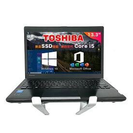【中古】【Office搭載】【Win 10搭載】東芝TOSHIBA R734シリーズ インテル第4世代Core i5 2.6GHzPC 13.3インチHD TFTカラーLED液晶 初期設定不要 初心者向け 新品メモリー:8GB/新品SSD256/USB 3.0 /無線LAN搭載