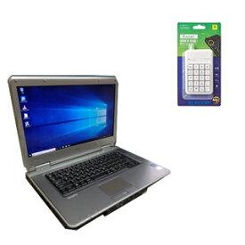 【中古】【Office搭載】【Win 10搭載】NEC VX-F/第三世代Core i5-3310M 2.5GHz/メモリー4GB/新品SSD:120GB/DVDスーパーマルチ/外付き10キー付/大画面15インチ/無線LAN搭載/中古ノートパソコン(中古マウス付き)(新品メモリー:8GB+新品外付けDVD)選択可能/WPS Office付き