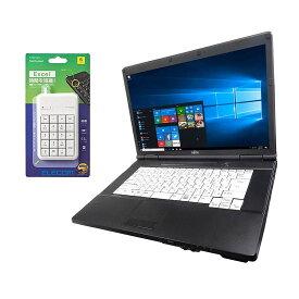 【中古】【Microsoft Office 2016搭載】【Win 10搭載】富士通 A561/C/第二世代Core i5 2.5GHz/メモリー4GB/新品SSD:120GB/DVDドライブ/外付き10キー付/大画面15インチ/無線LAN搭載/(中古マウス付き)(新品メモリー:8GB+新品SSD240G/480G)