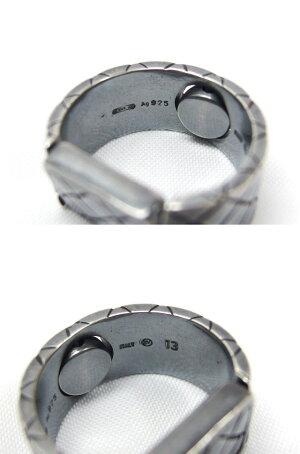 ボッテガヴェネタ回転式リング指輪サイズ表記13【未使用品】【送料無料!】【代引き手数料無料!】【中古】【20200211】