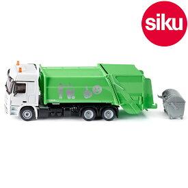 <ボーネルンド> Siku(ジク)社輸入ミニカー2938 メルセデスベンツ ゴミ収集車 1/50