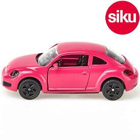 <ボーネルンド> Siku(ジク)社輸入ミニカー1488 VWフォルクスワーゲン The Beetle pink