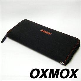 OXMOX オックスモックス color カラー ラウンドジッパー長財布 レッド