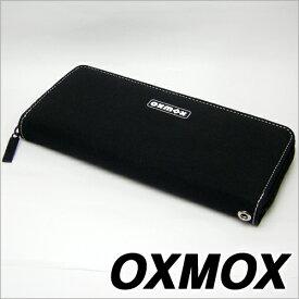 OXMOX オックスモックス color カラー ラウンドジッパー長財布 ホワイト