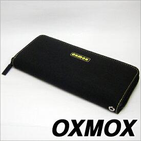 OXMOX オックスモックス color カラー ラウンドジッパー長財布 イエロー