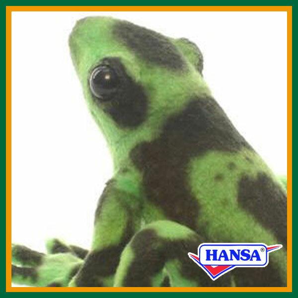 HANSA ハンサ ぬいぐるみ5224 グリーンヤドクガエル GREEN POISON ARROW FROG