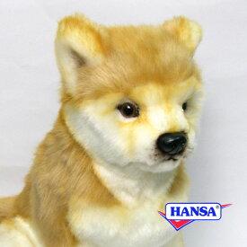 HANSA ハンサ ぬいぐるみ6341 柴犬 SHIBA DOG
