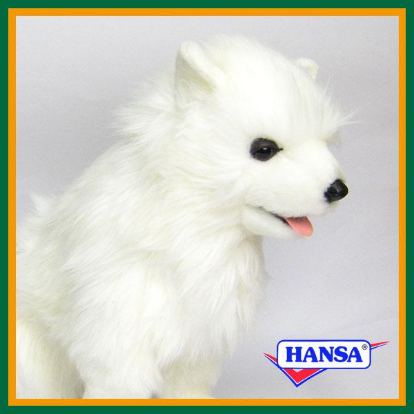 HANSA ハンサ ぬいぐるみ5267 サモエード犬 DOG SAMOYED PUP