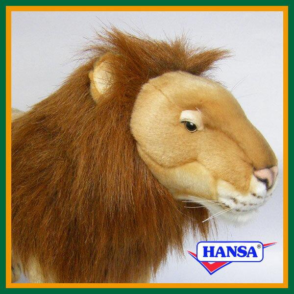HANSA ハンサ ぬいぐるみ3540 ライオンの雄 LION FAMILY SAFARI