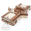 Ugears ユーギアーズ 木製組立立体パズル ドリームカブリオレットVM-05