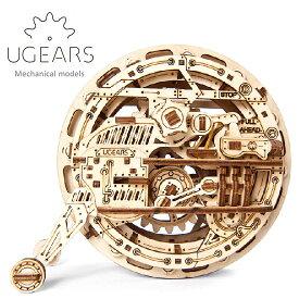 Ugears ユーギアーズ 木製組立立体パズル モノホイール