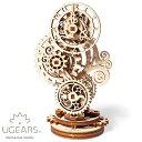 Ugears ユーギアーズ 木製組立立体パズル スチームパンククロック