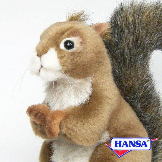 HANSA ハンサ ぬいぐるみ3395 赤リス RED SQUIRREL