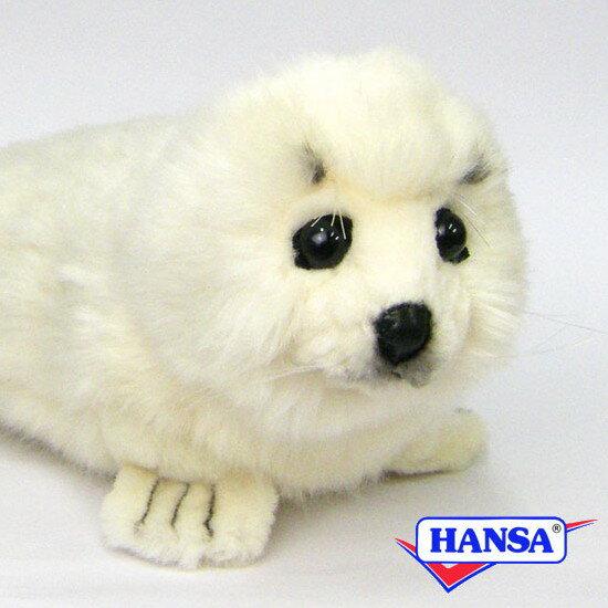 HANSA ハンサ ぬいぐるみ3767 白アザラシ WHITE SEAL