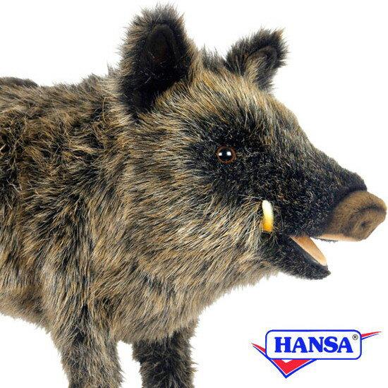HANSA ハンサ ぬいぐるみ4092 イノシシ WILD BOAR