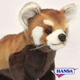HANSA ハンサ ぬいぐるみ6301 レッドパンダ RED PANDA SITTING