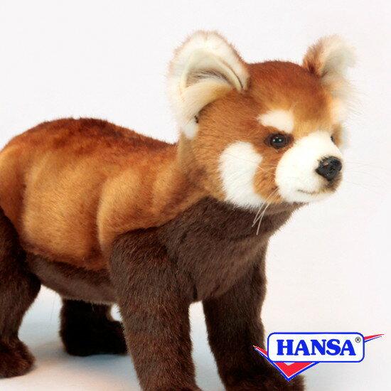 HANSA ハンサ ぬいぐるみ6309 レッドパンダ RED PANDA STANDING