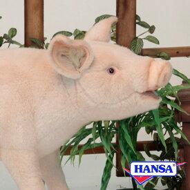 HANSA ハンサ ぬいぐるみ6347 ブタ PIG STANDING