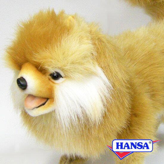 HANSA ハンサ ぬいぐるみ7018 ポメラニアン POMERANIAN DOG